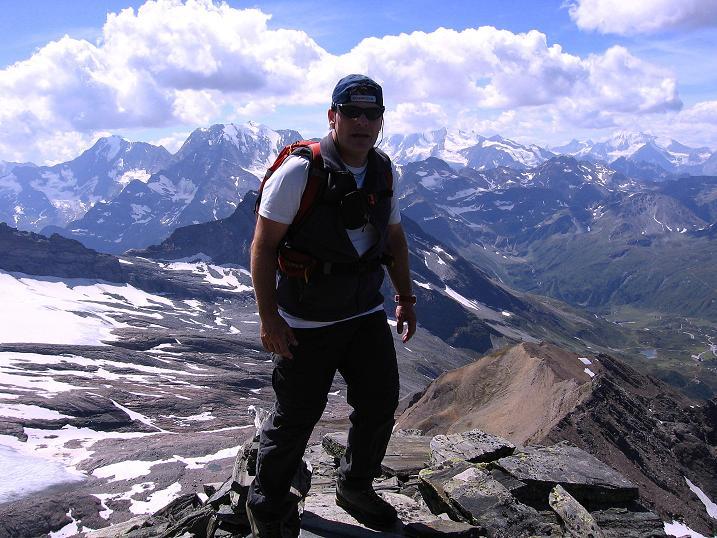 Foto: Andreas Koller / Wander Tour / Vom Simplonpass auf das Wasenhorn (3246 m) / 09.09.2009 23:50:58