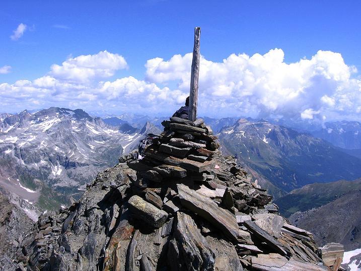 Foto: Andreas Koller / Wander Tour / Vom Simplonpass auf das Wasenhorn (3246 m) / 09.09.2009 23:49:46