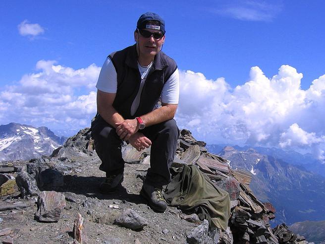 Foto: Andreas Koller / Wander Tour / Vom Simplonpass auf das Wasenhorn (3246 m) / 09.09.2009 23:49:10