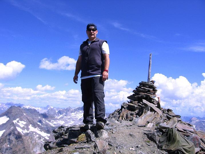 Foto: Andreas Koller / Wander Tour / Vom Simplonpass auf das Wasenhorn (3246 m) / 09.09.2009 23:48:43