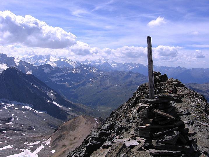 Foto: Andreas Koller / Wander Tour / Vom Simplonpass auf das Wasenhorn (3246 m) / 09.09.2009 23:48:24