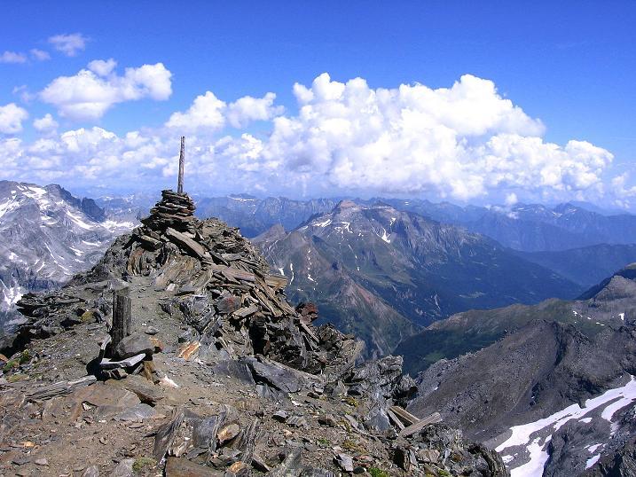 Foto: Andreas Koller / Wander Tour / Vom Simplonpass auf das Wasenhorn (3246 m) / 09.09.2009 23:47:56