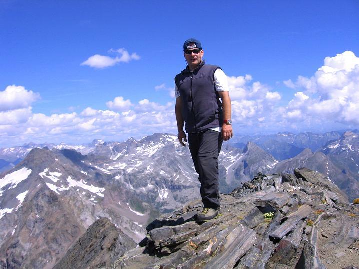 Foto: Andreas Koller / Wander Tour / Vom Simplonpass auf das Wasenhorn (3246 m) / 09.09.2009 23:47:47