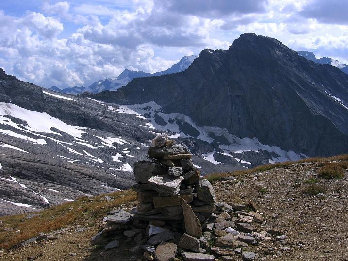 Foto: Andreas Koller / Wander Tour / Vom Simplonpass auf das Wasenhorn (3246 m) / Hübschhorn (3189 m) / 09.09.2009 23:47:20