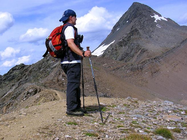 Foto: Andreas Koller / Wander Tour / Vom Simplonpass auf das Wasenhorn (3246 m) / Am Mäderhorn / 09.09.2009 23:46:53