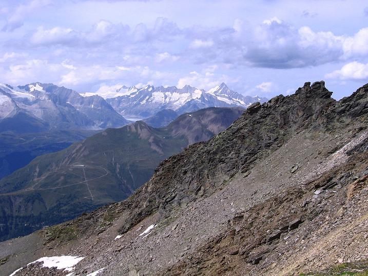 Foto: Andreas Koller / Wander Tour / Vom Simplonpass auf das Wasenhorn (3246 m) / 09.09.2009 23:46:17