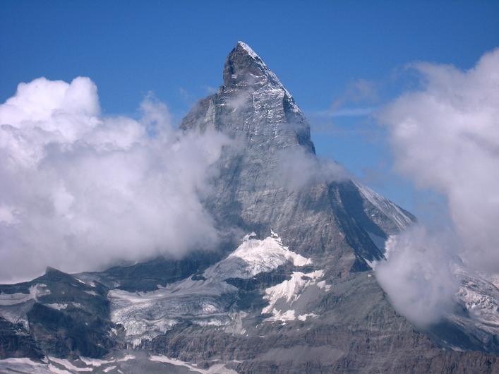 Foto: Andreas Koller / Wander Tour / Über den Hohtälligrat auf das Stockhorn (3532 m) / Matterhorn (4478 m) / 13.09.2009 23:51:44