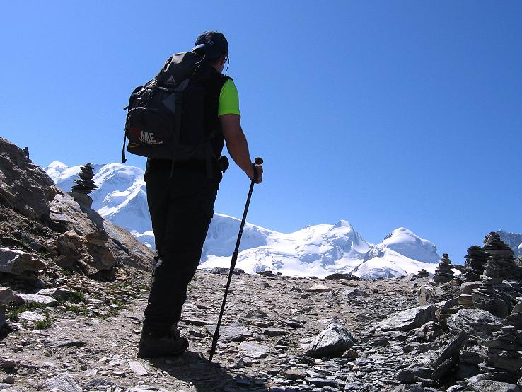 Foto: Andreas Koller / Wander Tour / Über den Hohtälligrat auf das Stockhorn (3532 m) / 13.09.2009 23:51:33