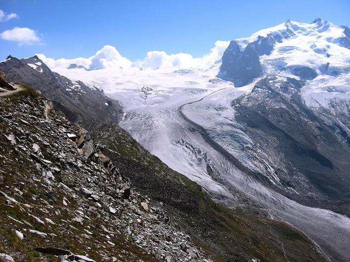 Foto: Andreas Koller / Wander Tour / Über den Hohtälligrat auf das Stockhorn (3532 m) / 13.09.2009 23:51:27