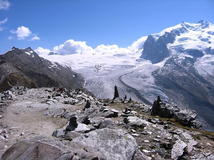 Foto: Andreas Koller / Wander Tour / Über den Hohtälligrat auf das Stockhorn (3532 m) / 13.09.2009 23:50:25