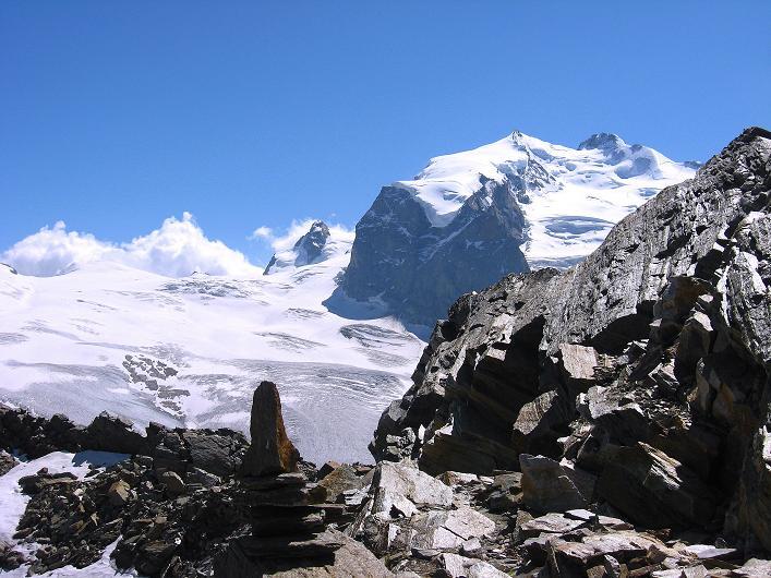 Foto: Andreas Koller / Wander Tour / Über den Hohtälligrat auf das Stockhorn (3532 m) / 13.09.2009 23:48:21