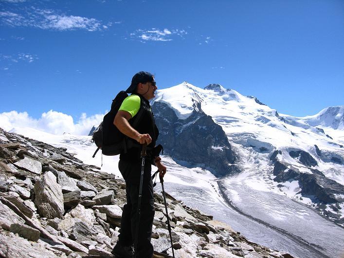 Foto: Andreas Koller / Wander Tour / Über den Hohtälligrat auf das Stockhorn (3532 m) / 13.09.2009 23:46:33