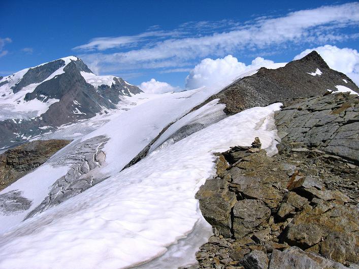 Foto: Andreas Koller / Wander Tour / Über den Hohtälligrat auf das Stockhorn (3532 m) / Strahlhorn (4190 m) und Stockhorn / 13.09.2009 23:45:30