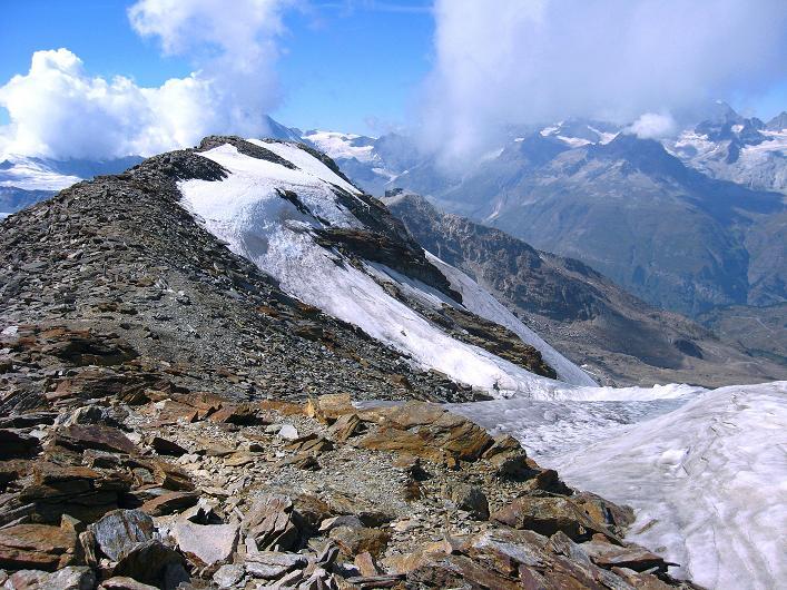 Foto: Andreas Koller / Wander Tour / Über den Hohtälligrat auf das Stockhorn (3532 m) / 13.09.2009 23:44:29