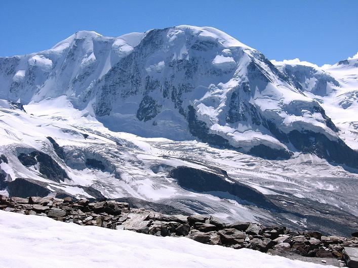 Foto: Andreas Koller / Wander Tour / Über den Hohtälligrat auf das Stockhorn (3532 m) / Liskamm (4527 m) / 13.09.2009 23:43:18