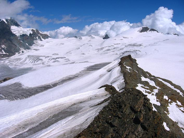 Foto: Andreas Koller / Wander Tour / Über den Hohtälligrat auf das Stockhorn (3532 m) / 13.09.2009 23:41:10