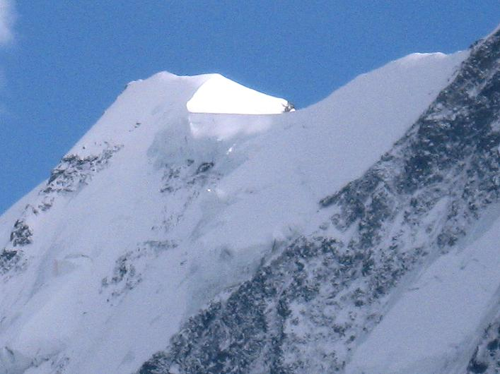 Foto: Andreas Koller / Wander Tour / Über den Hohtälligrat auf das Stockhorn (3532 m) / Liskamm Ostgipfel (4527 m) / 13.09.2009 23:36:00