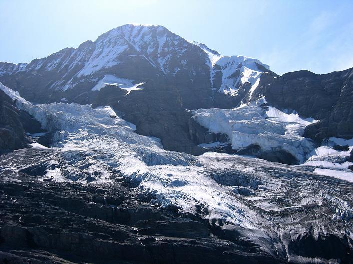 Foto: Andreas Koller / Klettersteig Tour / Klettersteig Rotstock (2663 m) / Mönch (4107 m) / 05.09.2009 02:23:10