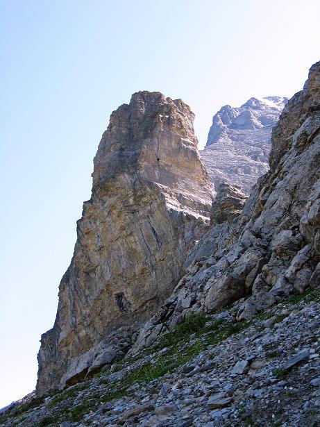 Foto: Andreas Koller / Klettersteig Tour / Klettersteig Rotstock (2663 m) / Rotstock / 05.09.2009 02:22:01