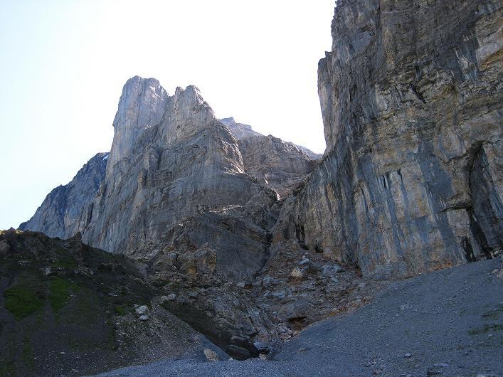 Foto: Andreas Koller / Klettersteig Tour / Klettersteig Rotstock (2663 m) / Eiger (3970 m) und Rotstock / 05.09.2009 02:21:27