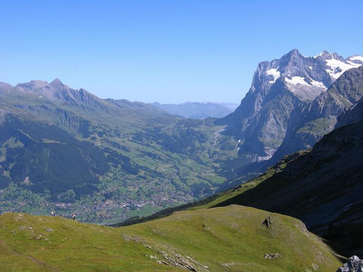 Foto: Andreas Koller / Klettersteig Tour / Klettersteig Rotstock (2663 m) / Schwarzhorn (2928 m), Grindelwald und Wetterhorn (3701 m) / 05.09.2009 02:20:31