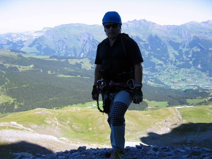 Foto: Andreas Koller / Klettersteig Tour / Klettersteig Rotstock (2663 m) / 05.09.2009 02:18:43