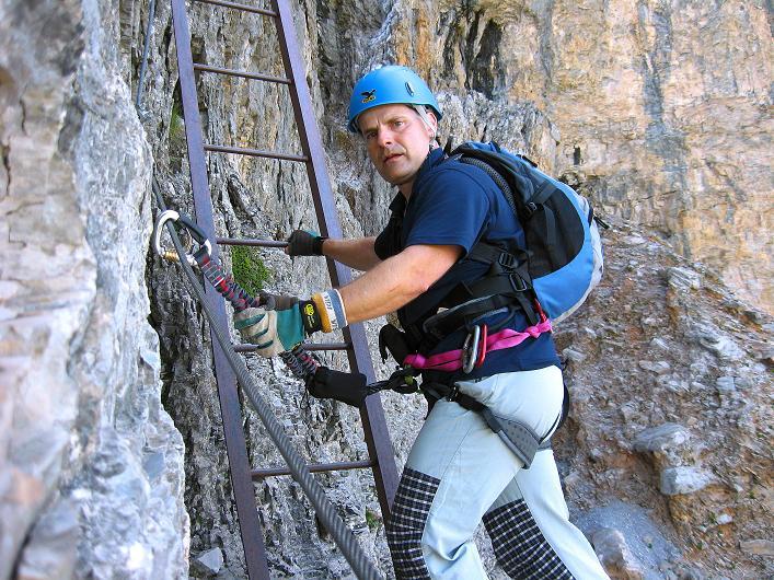 Foto: Andreas Koller / Klettersteig Tour / Klettersteig Rotstock (2663 m) / 05.09.2009 02:18:15
