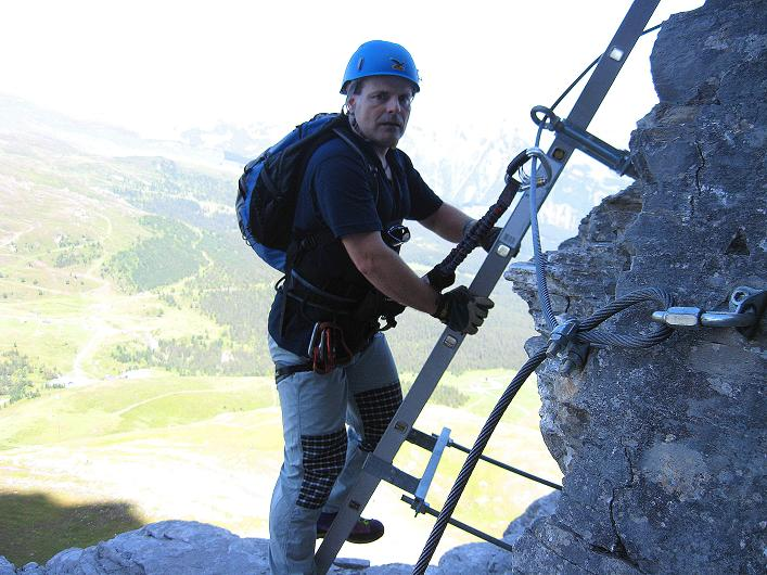 Foto: Andreas Koller / Klettersteig Tour / Klettersteig Rotstock (2663 m) / 05.09.2009 02:18:02