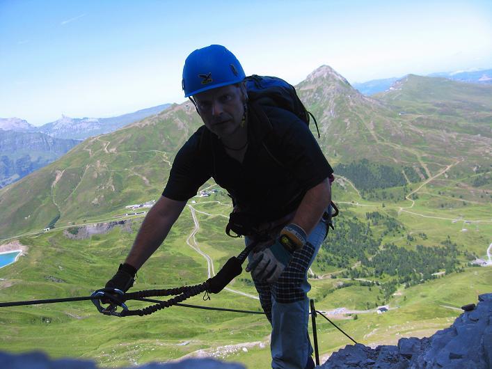 Foto: Andreas Koller / Klettersteig Tour / Klettersteig Rotstock (2663 m) / 05.09.2009 02:17:23