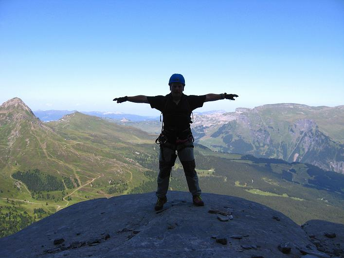 Foto: Andreas Koller / Klettersteig Tour / Klettersteig Rotstock (2663 m) / 05.09.2009 02:17:08