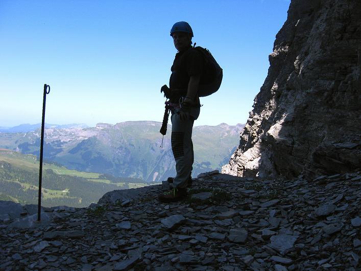 Foto: Andreas Koller / Klettersteig Tour / Klettersteig Rotstock (2663 m) / 05.09.2009 02:16:54