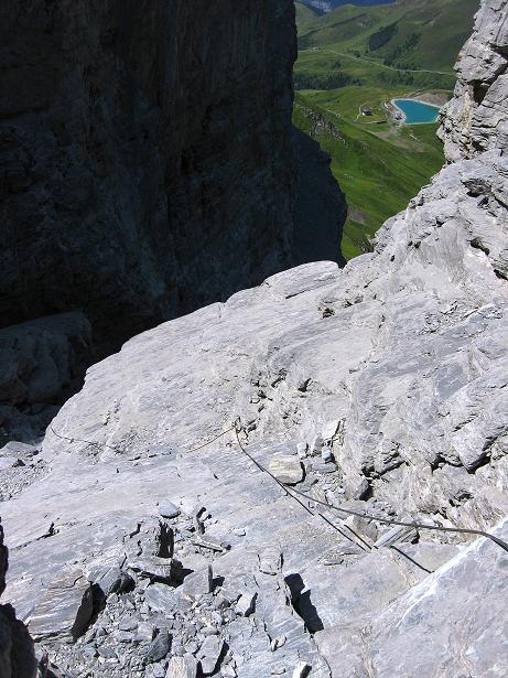 Foto: Andreas Koller / Klettersteig Tour / Klettersteig Rotstock (2663 m) / 05.09.2009 02:16:46