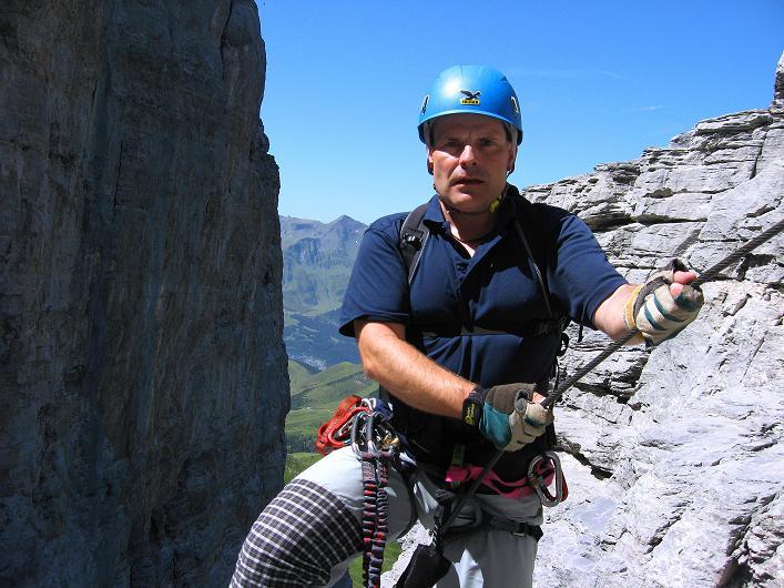 Foto: Andreas Koller / Klettersteig Tour / Klettersteig Rotstock (2663 m) / 05.09.2009 02:16:35
