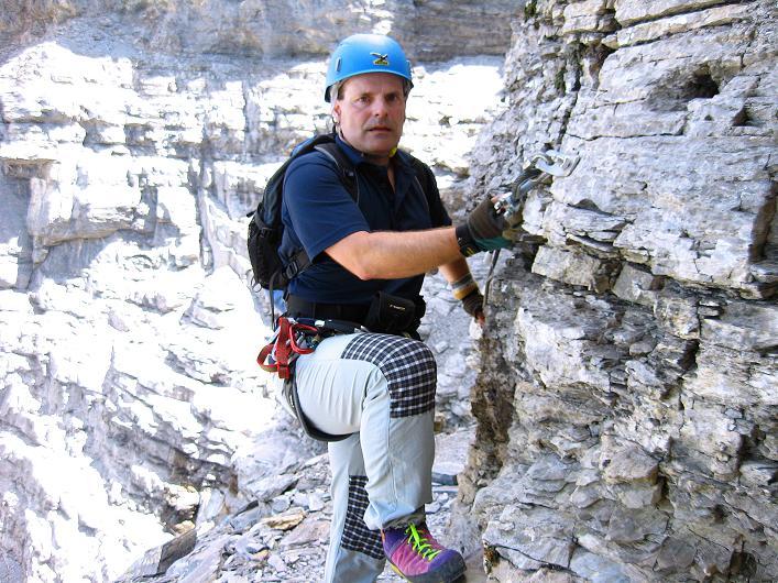 Foto: Andreas Koller / Klettersteig Tour / Klettersteig Rotstock (2663 m) / 05.09.2009 02:16:08