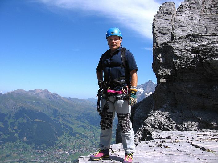 Foto: Andreas Koller / Klettersteig Tour / Klettersteig Rotstock (2663 m) / 05.09.2009 02:13:36