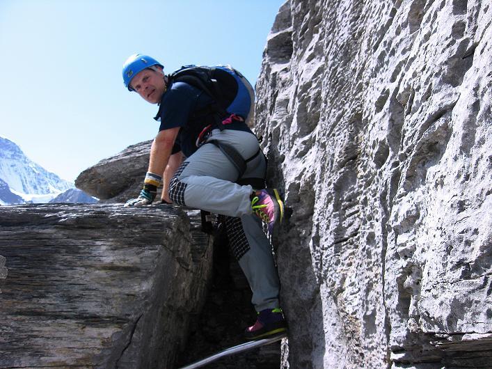 Foto: Andreas Koller / Klettersteig Tour / Klettersteig Rotstock (2663 m) / 05.09.2009 02:13:20