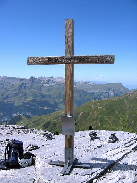 Foto: Andreas Koller / Klettersteig Tour / Klettersteig Rotstock (2663 m) / Am Rotstock / 05.09.2009 02:13:12