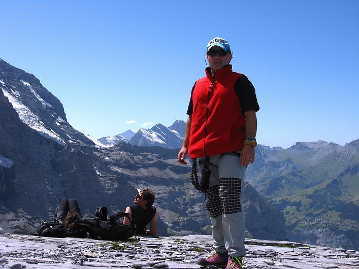 Foto: Andreas Koller / Klettersteig Tour / Klettersteig Rotstock (2663 m) / 05.09.2009 02:12:41