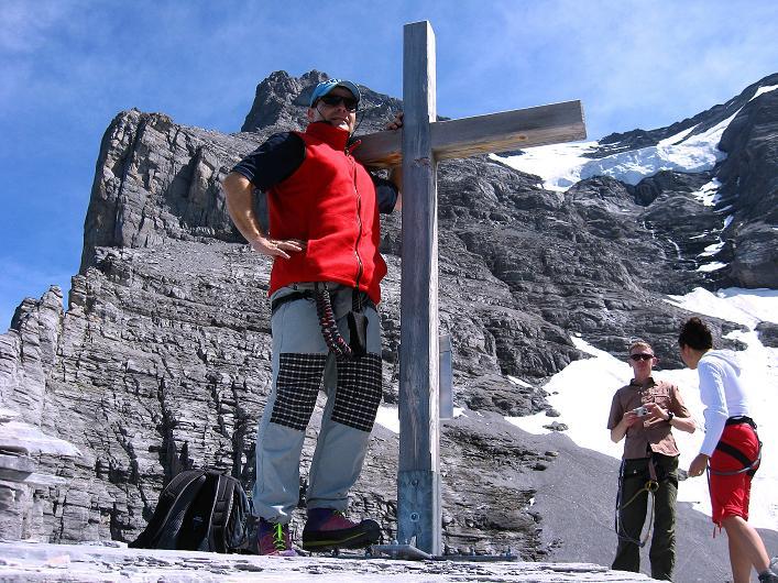 Foto: Andreas Koller / Klettersteig Tour / Klettersteig Rotstock (2663 m) / 05.09.2009 02:11:05