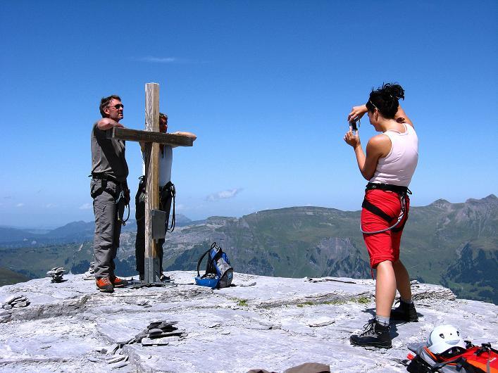 Foto: Andreas Koller / Klettersteig Tour / Klettersteig Rotstock (2663 m) / 05.09.2009 02:10:40