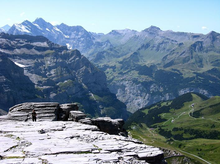 Foto: Andreas Koller / Klettersteig Tour / Klettersteig Rotstock (2663 m) / 05.09.2009 02:10:33