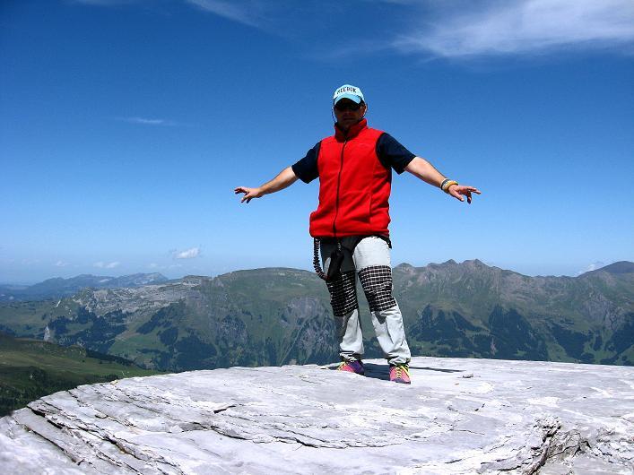 Foto: Andreas Koller / Klettersteig Tour / Klettersteig Rotstock (2663 m) / 05.09.2009 02:10:24