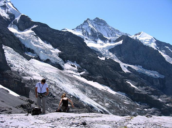 Foto: Andreas Koller / Klettersteig Tour / Klettersteig Rotstock (2663 m) / 05.09.2009 02:10:16