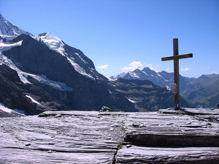 Foto: Andreas Koller / Klettersteig Tour / Klettersteig Rotstock (2663 m) / 05.09.2009 02:09:23