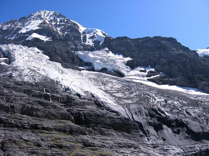 Foto: Andreas Koller / Klettersteig Tour / Klettersteig Rotstock (2663 m) / Mönch (4107 m) / 05.09.2009 02:07:59