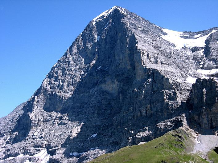 Foto: Andreas Koller / Klettersteig Tour / Klettersteig Rotstock (2663 m) / Die berühmte Eiger Nordwand (3970 m) / 05.09.2009 02:07:40