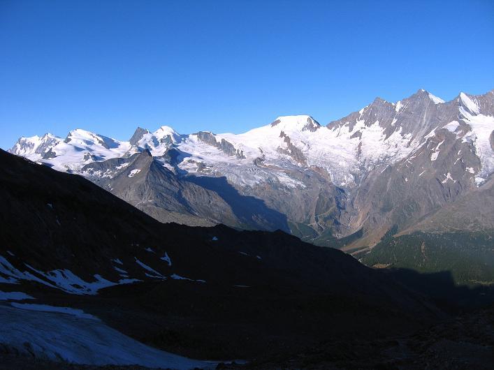 Foto: Andreas Koller / Wander Tour / Lagginhorn (4010 m) / 12.09.2009 15:49:28
