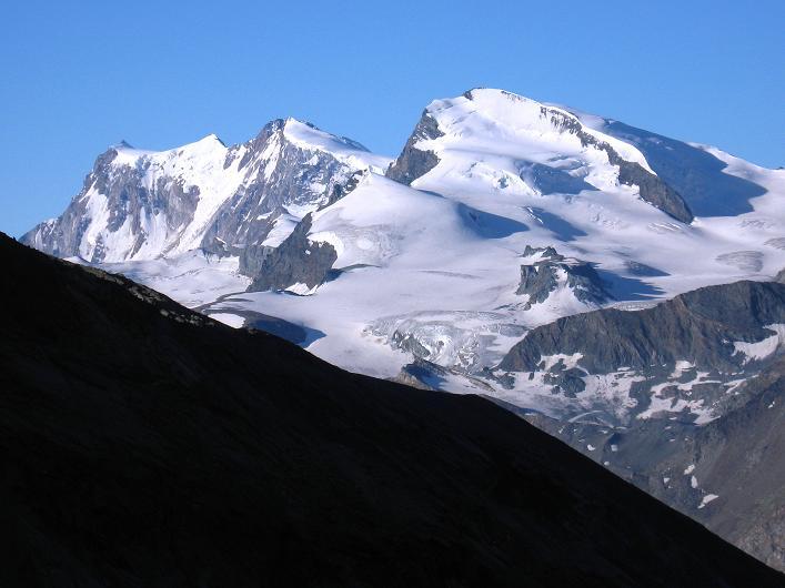 Foto: Andreas Koller / Wander Tour / Lagginhorn (4010 m) / 12.09.2009 15:49:18