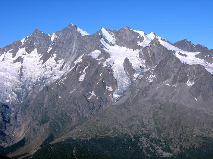 Foto: Andreas Koller / Wander Tour / Lagginhorn (4010 m) / 12.09.2009 15:49:13