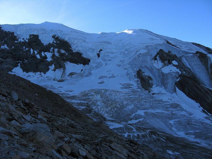 Foto: Andreas Koller / Wander Tour / Lagginhorn (4010 m) / Weißmies (4023 m) / 12.09.2009 15:49:08